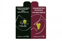 Monodosis virgen extra ecológico y vinagre Villa Oleum - (400 ud/caja)